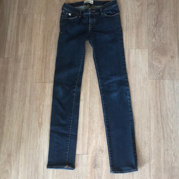749b68c914bf3 Abercrombie & Fitch Bottoms | Abercrombie Stretch Jeans Girls 14 ...
